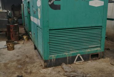 Used 500 kVA  Cummins  Silent Genset in best condition 1800 hours
