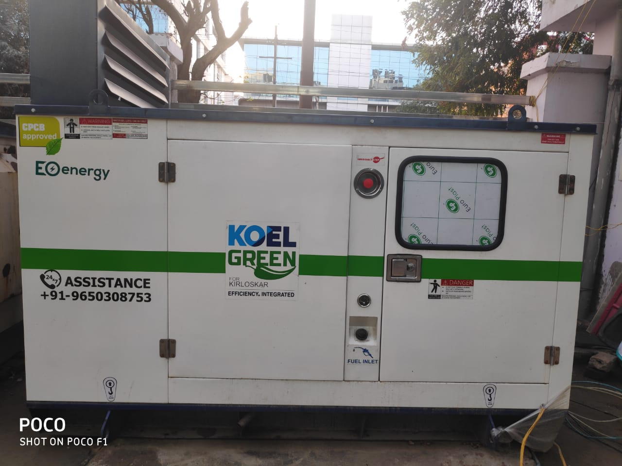 30kva Used Generator Koel Green with all accessories